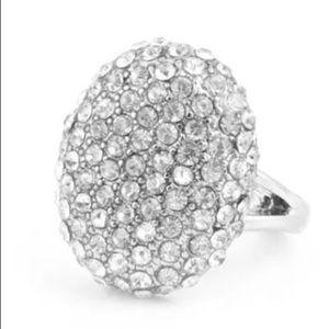 Jewelry - Crystal Rhinestone Engagement Ring